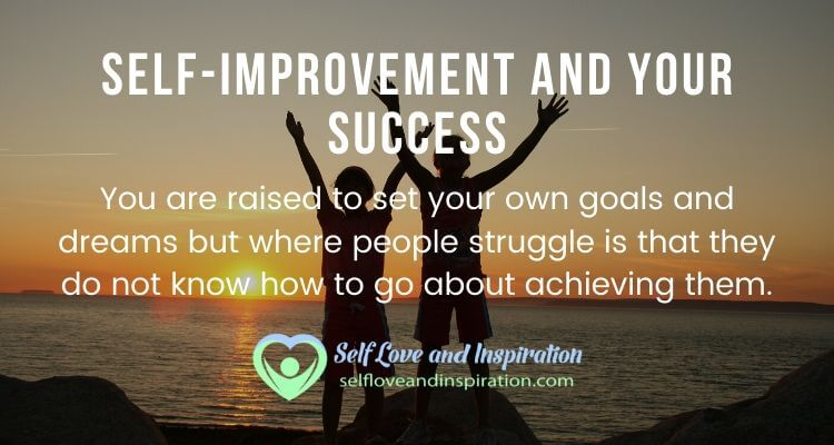 Self improvement and your success