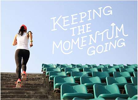 Learning To Keep Your Momentum Moving Forward