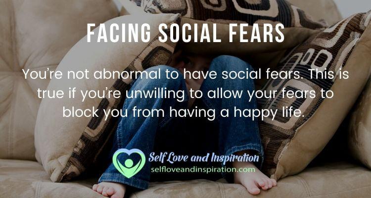 Facing Social Fears