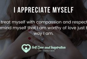 Appreciating myself