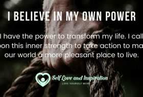 Affirmations – I Believe in My Own Power