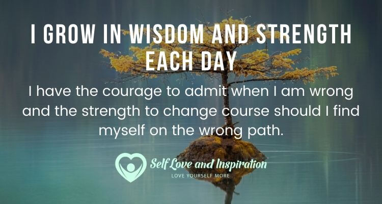 I Grow in Wisdom and Strength Each Day