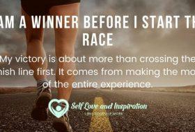 Affirmation – I am a Winner Before I Start the Race