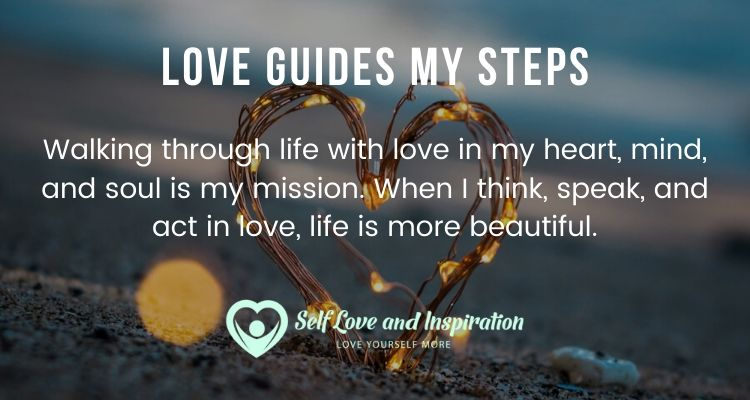 Love Guides My Steps