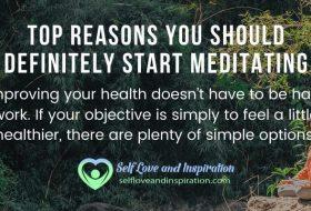 Top Reasons To Start Meditating