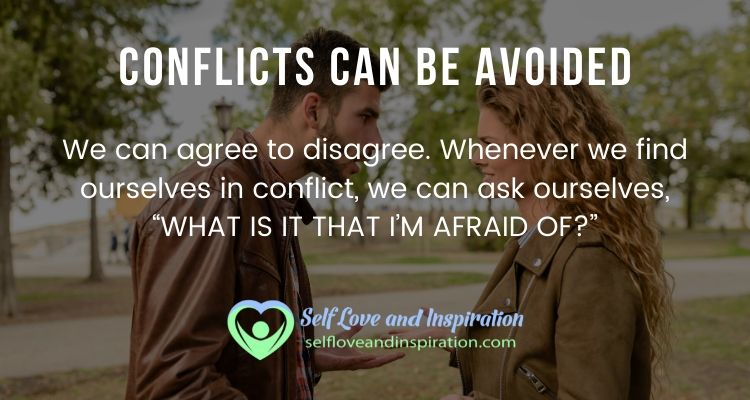 Conflicts can be Avoided